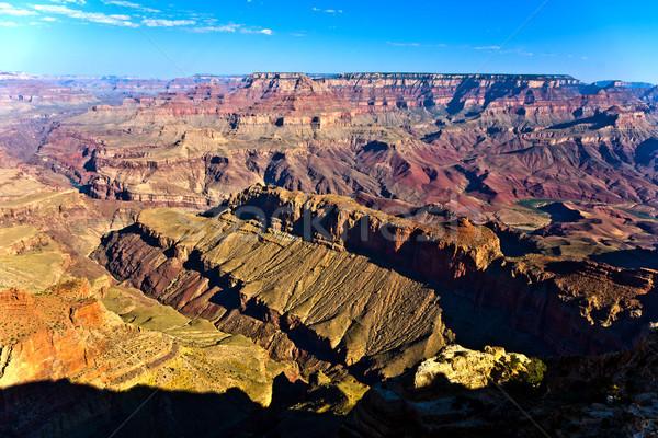 Grand Canyon tramonto fiume Colorado panorama viaggio Foto d'archivio © meinzahn