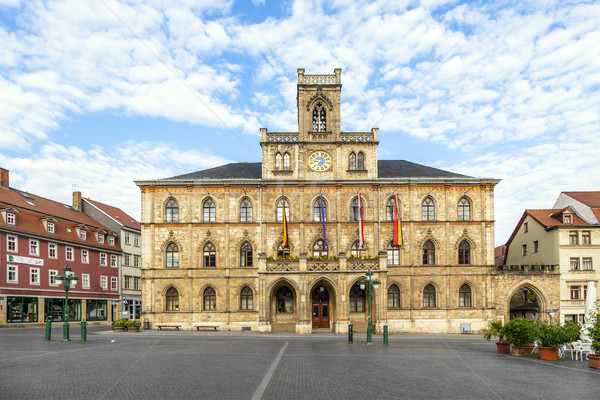 Town hall Weimar in Germany, UNESCO World Heritage Site  Stock photo © meinzahn
