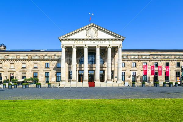 Casino in Wiesbaden/Germany Stock photo © meinzahn