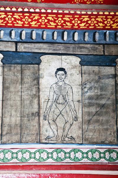 картины храма учить иглоукалывание древесины здоровья Сток-фото © meinzahn