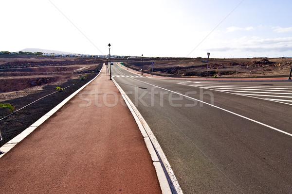 new roads for a development area  Stock photo © meinzahn