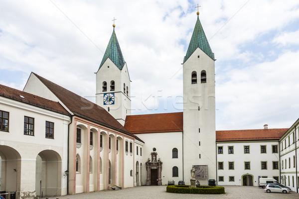 spires freising cathedral Stock photo © meinzahn