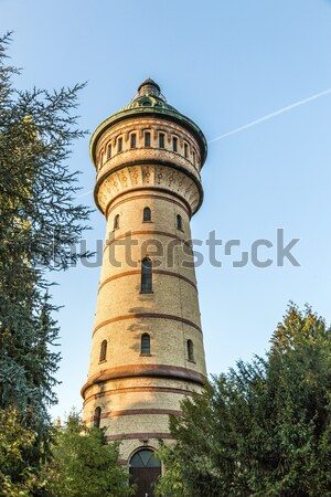 water tower in Wiesbaden Biebrich Stock photo © meinzahn