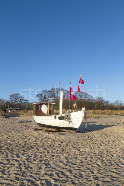 Costa mar báltico Alemanha Foto stock © meinzahn