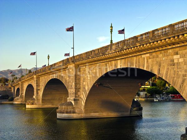 London bridge lac vieux historique pont originale Photo stock © meinzahn