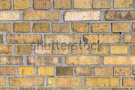 Minta öreg történelmi téglafal harmonikus struktúra Stock fotó © meinzahn