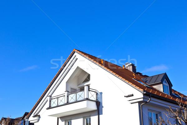 ジェネリック 実家 郊外の 青空 空 家 ストックフォト © meinzahn
