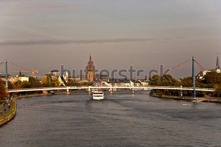 City of Frankfurt, Germany  Stock photo © meinzahn