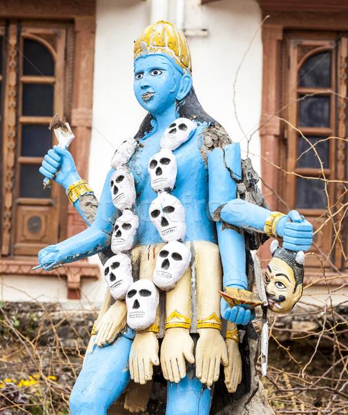 Shiva szobor tó színes város halál Stock fotó © meinzahn