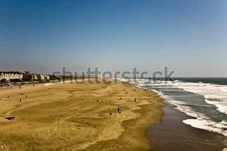 サンフランシスコ 海 ビーチ 海 楽しい 波 ストックフォト © meinzahn
