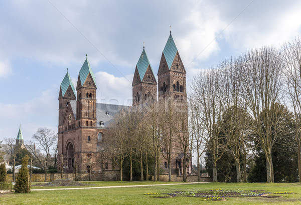 View on the Church of the Redeemer (from the German Erloeserkirche) in Bad Homburg, Germany Stock photo © meinzahn