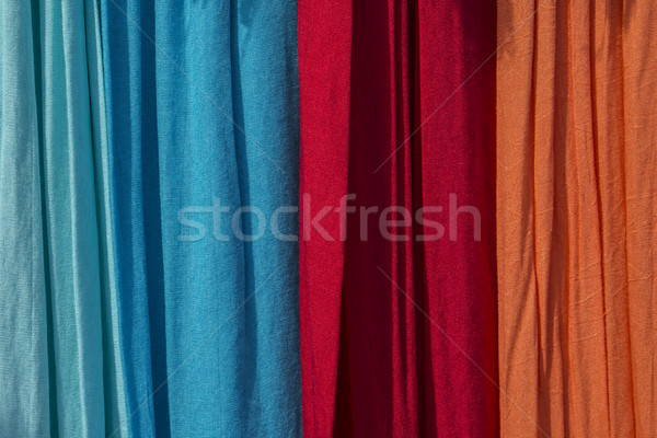 colorful linen in outdoor light  Stock photo © meinzahn