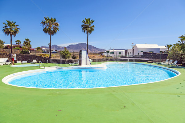 tropical outdoor pool area  Stock photo © meinzahn