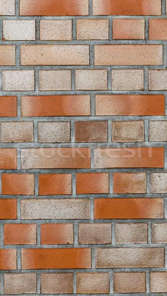 Rood muur textuur muur steen architectuur Stockfoto © meinzahn