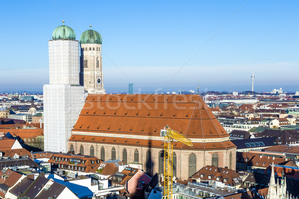 church of our lady in Munich Stock photo © meinzahn