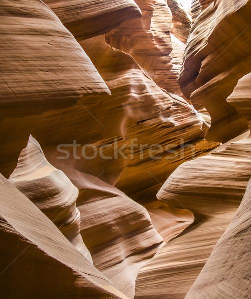 antelop canyon Stock photo © meinzahn