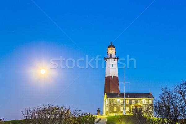 Montauk Point Light, Lighthouse, Long Island, New York, Suffolk  Stock photo © meinzahn