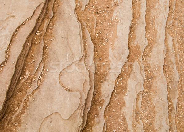 Detalhado arenito ferradura belo Foto stock © meinzahn