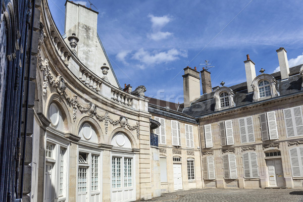 Palace of Dukes of Burgundy (Palais des ducs de Bourgogne) in Di Stock photo © meinzahn