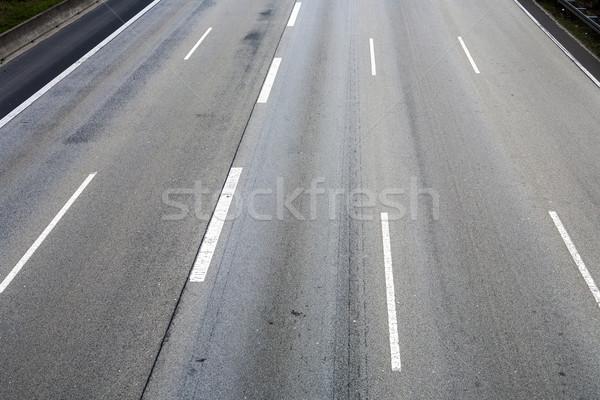 Pattern vuota autostrada business auto Foto d'archivio © meinzahn