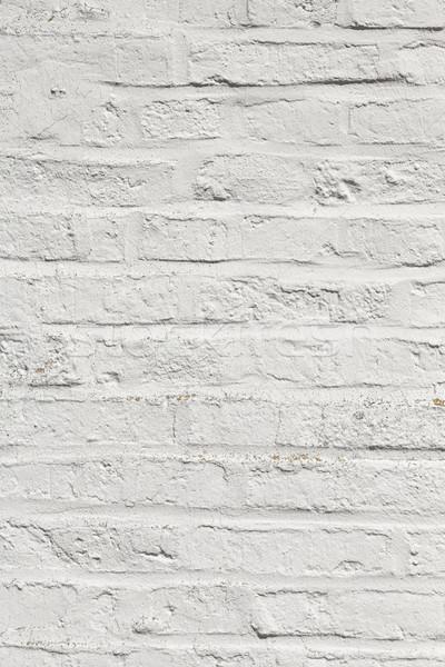 Witte harmonisch muur oude huis verf Stockfoto © meinzahn