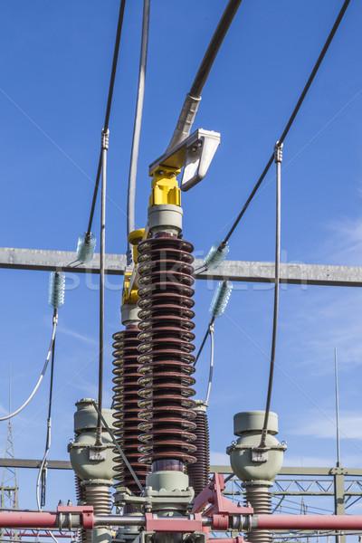 transformer for wind energy  Stock photo © meinzahn