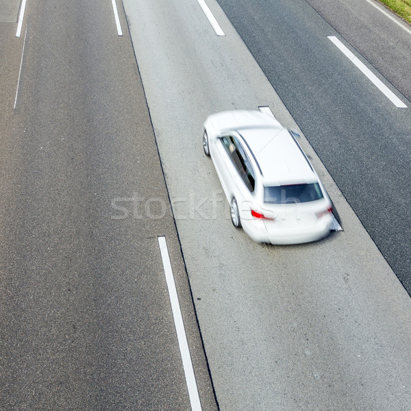pattern of highway  Stock photo © meinzahn