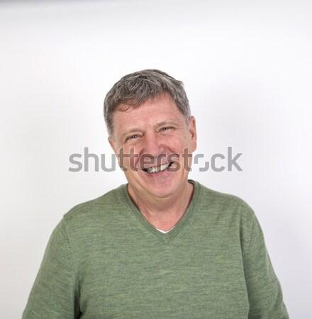 Atractivo nino pubertad cara modelo Foto stock © meinzahn