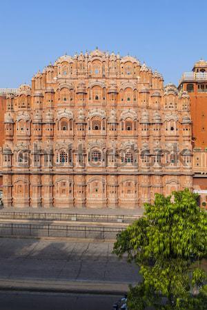 Hawa Mahal, the Palace of Winds, Jaipur, Rajasthan, India.  Stock photo © meinzahn