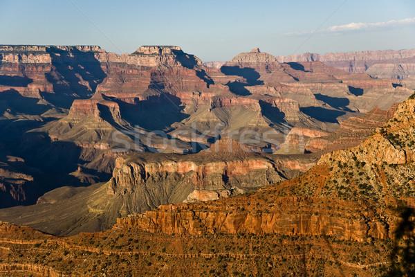 Foto stock: Colorido · cenário · Grand · Canyon · ponto · sul
