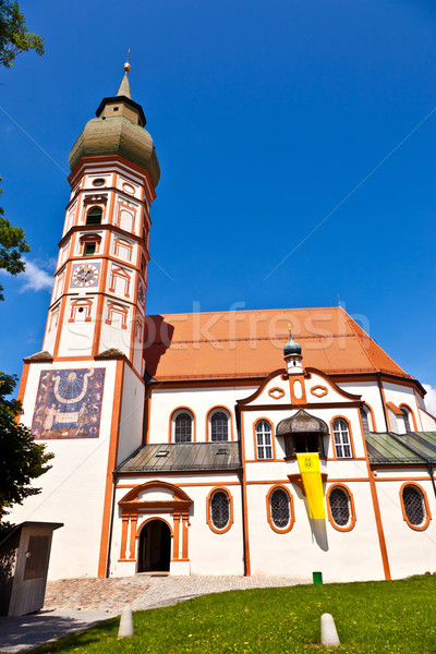 famous cloister of Andechs Stock photo © meinzahn