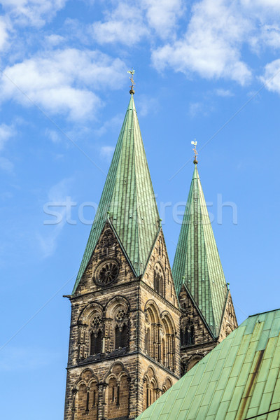 tower of St. Petri dome in Bremen  Stock photo © meinzahn
