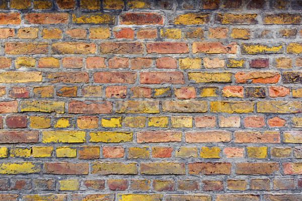 Background brick wall. Old house brickwall texture  Stock photo © meinzahn