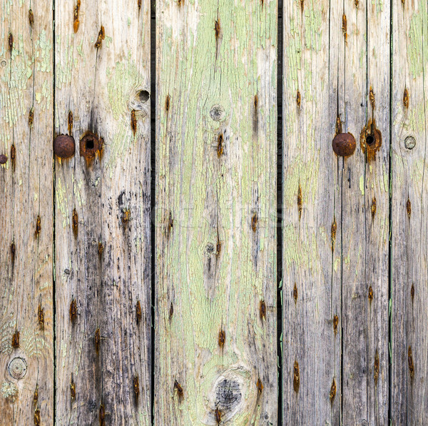 Stock photo: an Old wood texture background
