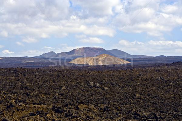 vulcanic landscape  Stock photo © meinzahn
