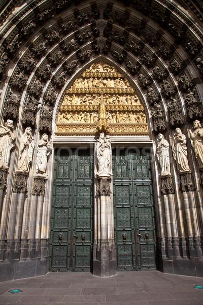 Hermosa cúpula colonia edificio puerta arte Foto stock © meinzahn