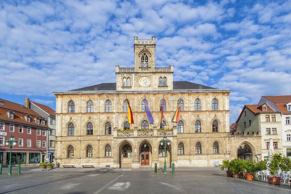 Városháza Németország unesco világ örökség helyszín Stock fotó © meinzahn
