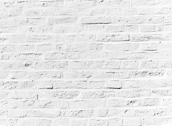 Grunge muur oude huis detail huis bouw Stockfoto © meinzahn