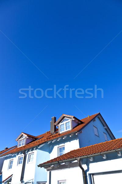 generic family home in suburban area Stock photo © meinzahn
