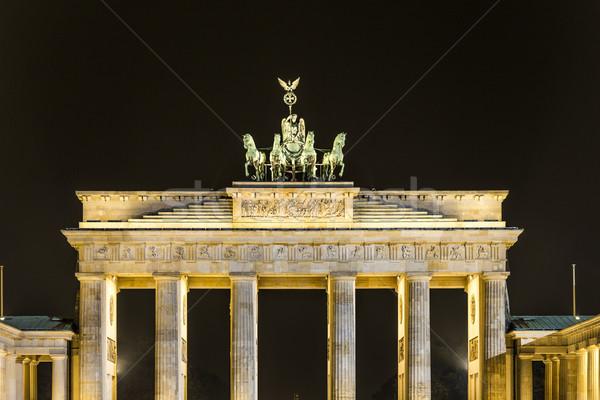 Brandenburg Gate (Brandenburger Tor) in Berlin   Stock photo © meinzahn