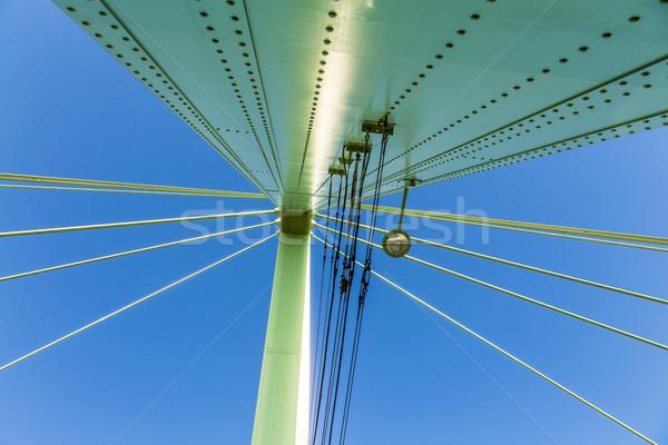 Severins Bridge in Cologne Stock photo © meinzahn