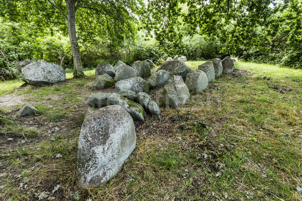 megalithic grave  Stock photo © meinzahn