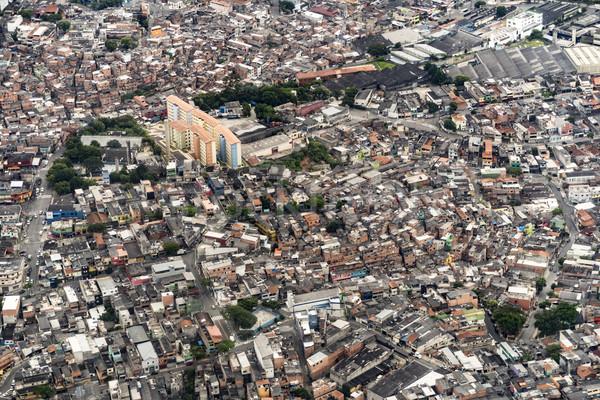 Banliyö Rio de Janeiro Brezilya Stok fotoğraf © meinzahn
