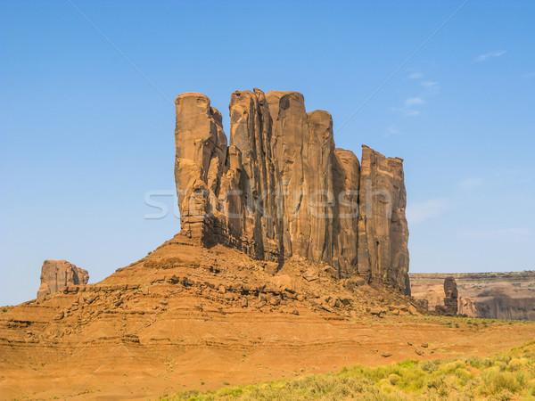 Völgy gyönyörű homokkő kő teve Stock fotó © meinzahn