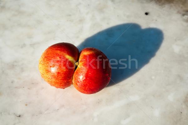 Manzanas dar fantasía frescos interesante Foto stock © meinzahn