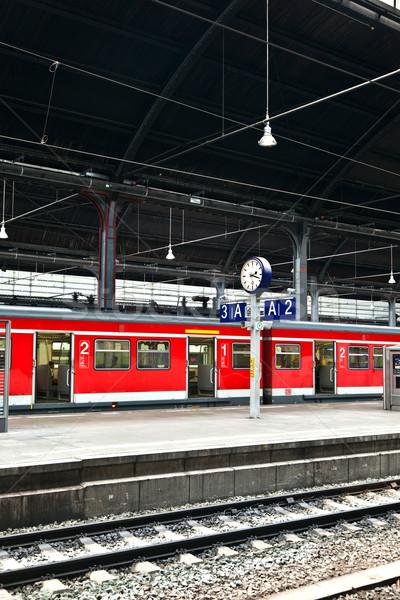 classicistical railway Stock photo © meinzahn