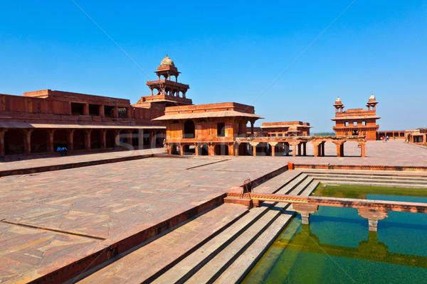 öreg város India kerület nagyszerű császár Stock fotó © meinzahn
