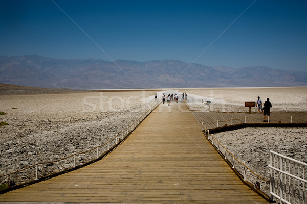 Badwater, deepest point in the USA  Stock photo © meinzahn