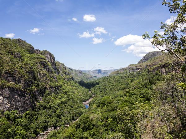 river in  Chapada dos Veadeiros National Park Stock photo © meinzahn