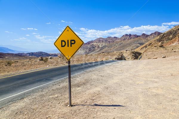 Manzaralı yol sürmek ölüm vadi renkli Stok fotoğraf © meinzahn